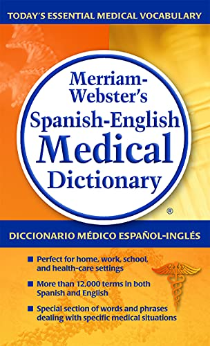 Merriam-Webster's Spanish-English Medical Dictionary von Merriam Webster,U.S.