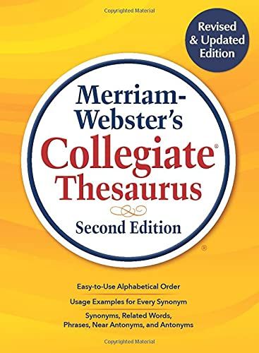 Merriam-Webster's Collegiate Thesaurus, Second Edition von MERRIAM WEBSTER INC
