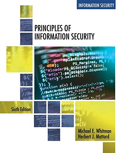 Principles of Information Security von Mindtap Course List
