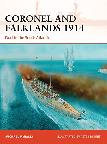 Coronel and Falklands 1914: Duel in the South Atlantic (Campaign, Band 248) von Osprey Publishing (UK)