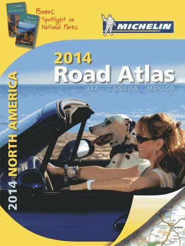 Michelin 2014 Road Atlas North America: USA, Canada, Mexico (Michelin Road Atlas) von Michelin Editions des Voyages
