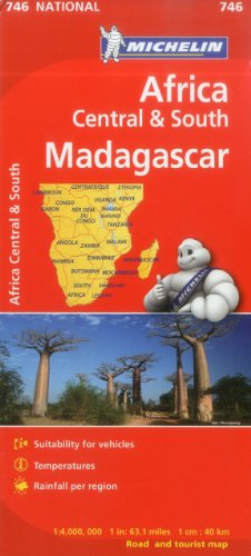 Michelin Map Africa Central South and Madagascar 746 (Maps/Country (Michelin))