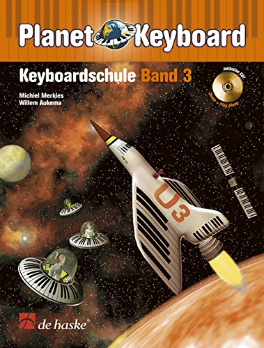 Planet Keyboard, Keyboardschule, m. Audio-CD