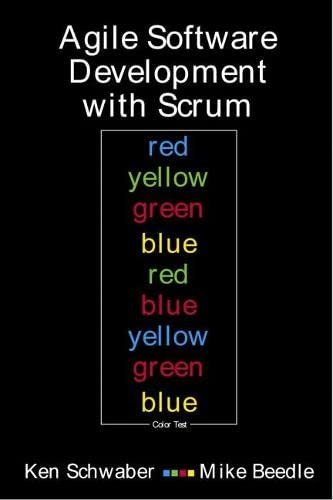 Agile Software Development With Scrum (Series in Agile Software Development) von Prentice Hall