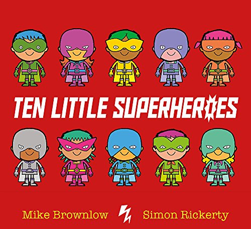 Ten Little Superheroes von Hachette Children'S Books; Orchard Books