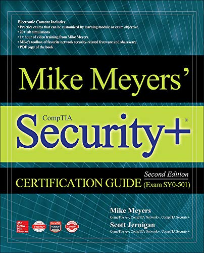 Mike Meyers' CompTIA Security+ Certification Guide, Second Edition (Exam SY0-501) (Mike Meyers' Certification Passport) von McGraw-Hill Education