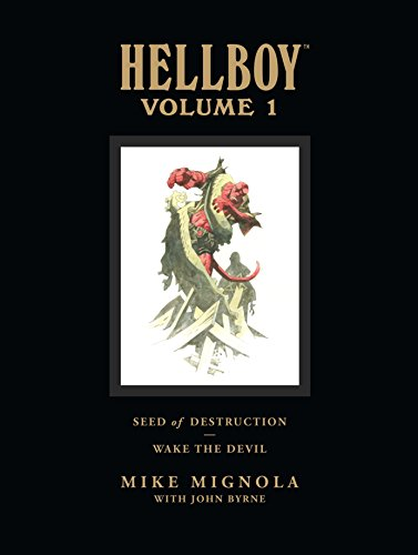 Hellboy Library Volume 1: Seed of Destruction and Wake the Devil (Hellboy (Dark Horse Library)) von Dark Horse Books