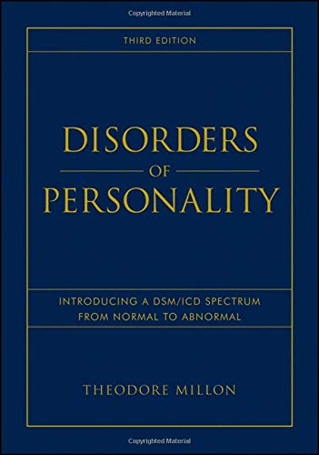 Disorders of Personality: Introducing a DSM/ICD Spectrum from Normal to Abnormal (Wiley Series on Personality Processes) von Wiley