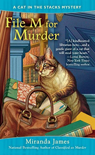 File M for Murder (Cat in the Stacks Mystery, Band 3)
