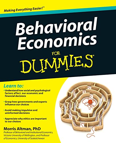 Behavioral Economics For Dummies von Unknown