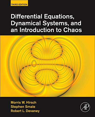 Differential Equations, Dynamical Systems, and an Introduction to Chaos von Academic Press Inc