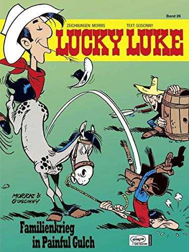 Lucky Luke 26: Familienkrieg in Painful Gulch von Egmont Comic Collection