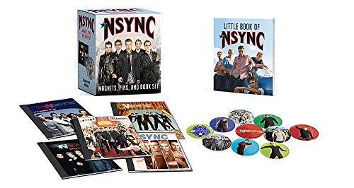 *NSYNC: Magnets, Pins, and Book Set von RP Minis