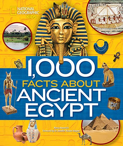 1,000 Facts About Ancient Egypt von National Geographic Children's Books