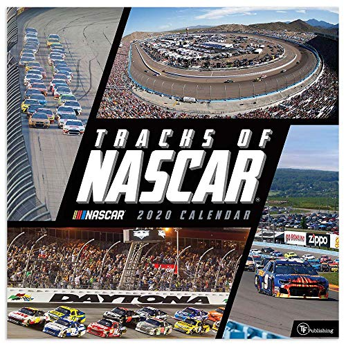 Tracks of Nascar 2020 Calendar von Time Factory