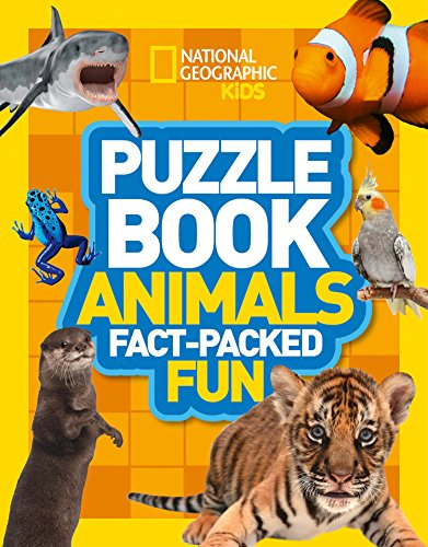 Puzzle Book Animals: Brain-Tickling Quizzes, Sudokus, Crosswords and Wordsearches (National Geographic Kids Puzzle Books) von HarperCollins Publishers