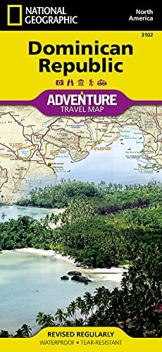 Dominikanische Republik: NATIONAL GEOGRAPHIC Adventure Maps