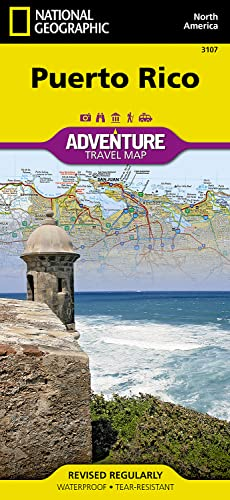 Puerto Rico: NATIONAL GEOGRAPHIC Adventure Maps