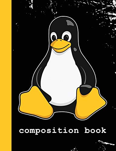 Composition Book: Linux Mascot Logo Tux the Penguin Nerd Geek Sysadmin Vintage Notebook Journal von Independently published
