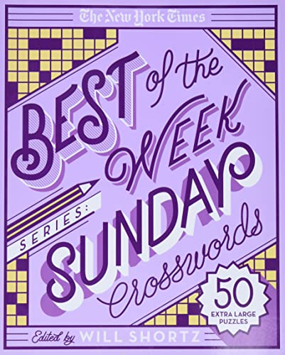 The New York Times Best of the Week Series: Sunday Crosswords: 50 Extra Large Puzzles von GRIFFIN