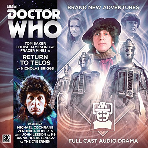 Doctor Who 4.8 - Return to Telos von Big Finish Productions Ltd