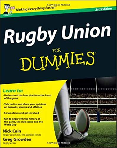 Rugby Union For Dummies: UK Edition