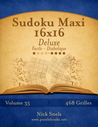 Mega Sudoku 16x16 Luxus - Extrem Schwer - Band 56 - 468 Rätsel von Createspace Independent Publishing Platform