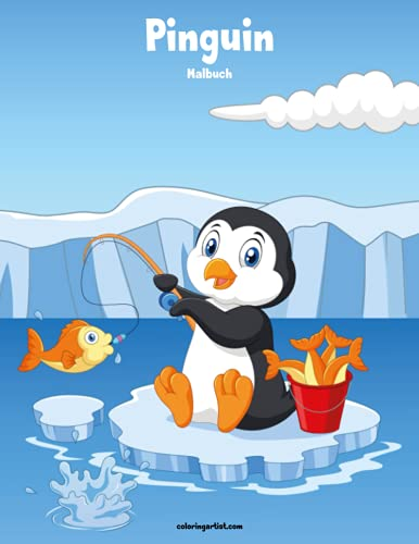Pinguin-Malbuch 1 von CreateSpace Independent Publishing Platform