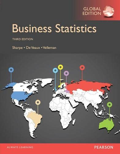 Business Statistics, Global Edition von Pearson Education Limited