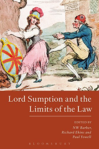 Lord Sumption and the Limits of the Law von Hart Publishing