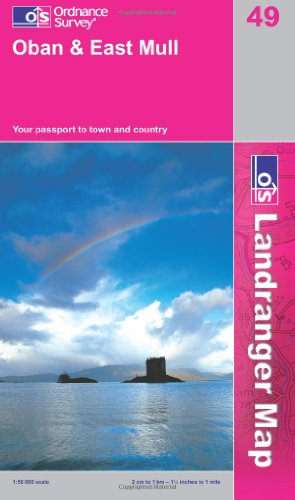 Oban and East Mull (OS Landranger Map) von Ordnance Survey