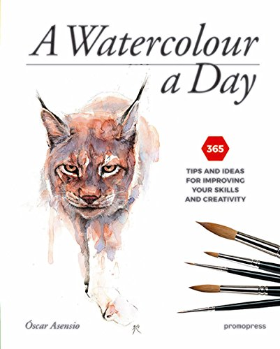 A Watercolour a Day: 365 Tips and Ideas for Improving Your Skills and Creativity (Promopress) von Promopress