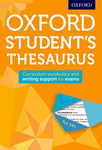 Oxford Student's Thesaurus (Oxford Thesaurus)