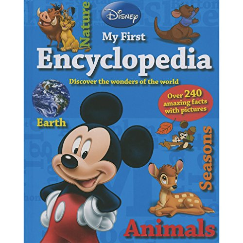 Disney My First Encyclopedia: Over 240 Amazing Facts with Pictures (Disney First Reference) von Parragon