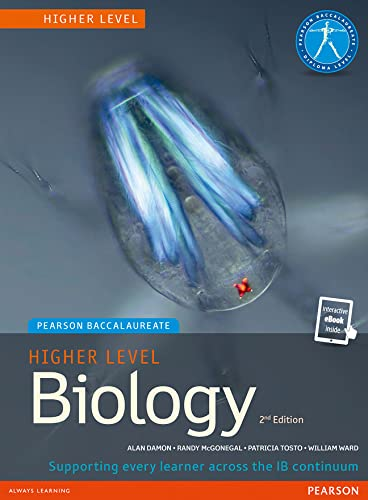Pearson Baccalaureate Biology Higher Level 2nd edition print and ebook bundle for the IB Diploma (Pearson International Baccalaureate Diploma: International Editions)