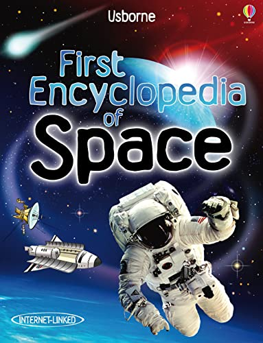 First Encyclopedia of Space (Internet Linked) von Usborne Publishing