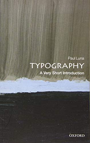 Typography: A Very Short Introduction (Very Short Introductions) von Oxford University Press, USA