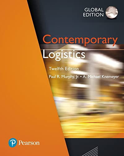 Contemporary Logistics, Global Edition von Pearson