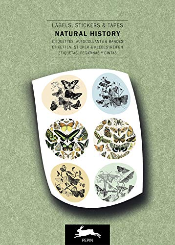 Natural History: Label and Sticker Book: labels, stickers & tapes (Label & Sticker Book) von Pepin Press B.V., The
