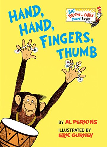 Hand, Hand, Fingers, Thumb (Big Bright & Early Board Book) von Random House Books for Young Readers