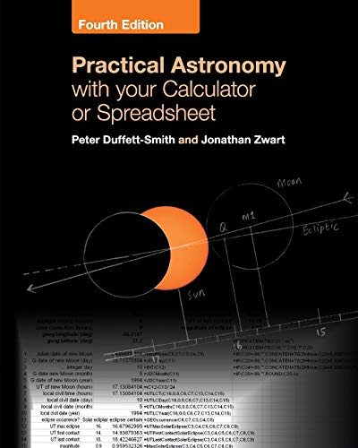 Practical Astronomy with your Calculator or Spreadsheet von Cambridge University Press