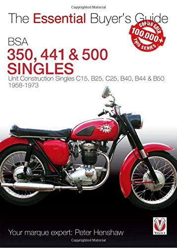 BSA 350 & 500 Singles (Essential Buyer's Guide) von Veloce Publishing Ltd