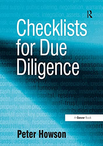Checklists for Due Diligence