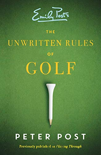 The Unwritten Rules of Golf von William Morrow Paperbacks