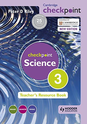 Cambridge Checkpoint Science Teacher's Resource Book 3 (Cambridge Secondary) von Hodder Education