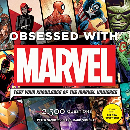 Obsessed With Marvel (Marvel Universe Comic Books) von Titan Books Ltd