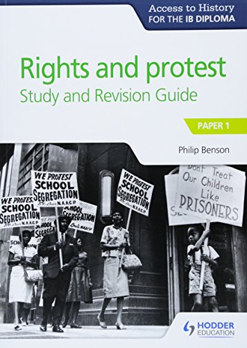 Access to History for the IB Diploma Rights and protest Study and Revision Guide: Paper 1 von Hodder Education