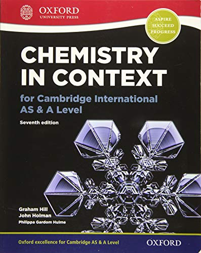 Hill, G: Chemistry in Context for Cambridge International AS von OUP Oxford