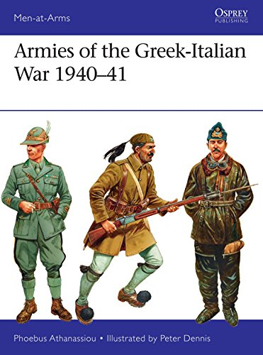Armies of the Greek-Italian War 1940-41 (Men-at-Arms, Band 14) von Bloomsbury Publishing PLC