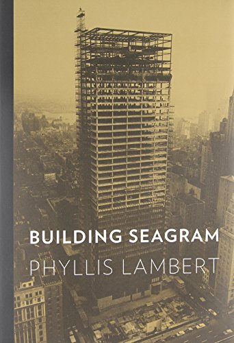 Building Seagram von Yale University Press